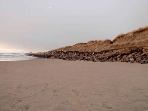 End of the beach, Fort Stevens, Astoria WA