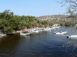 Boats in Zihuatanejo Harbor